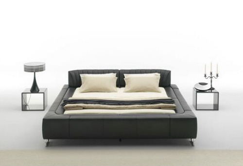 ... Leather Beds: Modern, Stylish & Comfortable ...